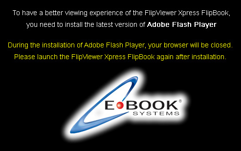 Flash Player Flip Book